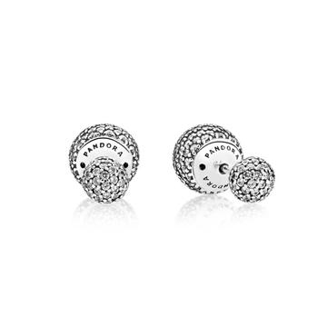 Pendientes de plata que forma parte de nuestra joyería online para señoras