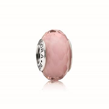 Foto de Charm murano facetado rosa