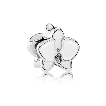 Charm Pandora 792074EN12 plata orquídea