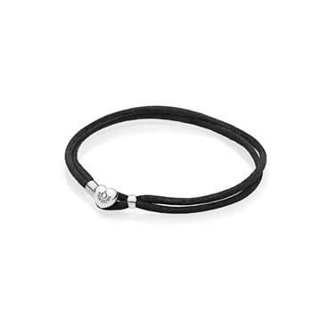 Foto de Pulsera moments cordon negro