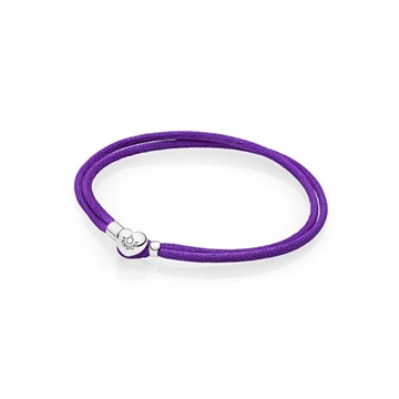 Foto de Pulsera moments cordon morado