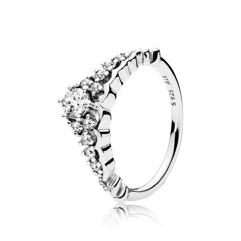 anillo corona de princesa pandora