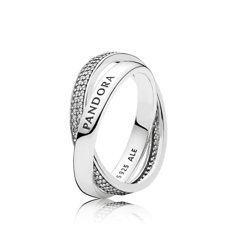 anillos de compromiso marca pandora