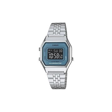Reloj digital CASIO retro azul