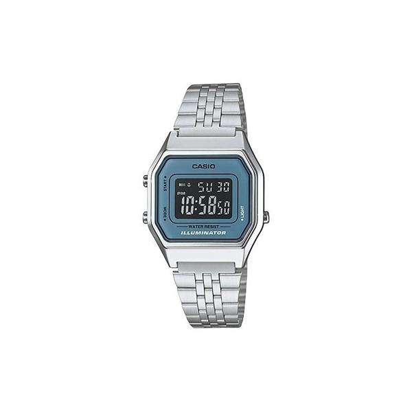 Reloj digital CASIO retro azul
