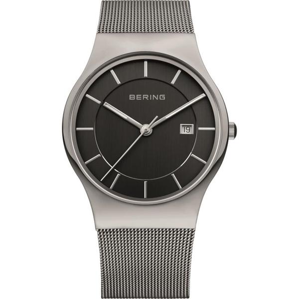 Reloj BERING classic acero esferna negra