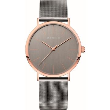 Foto de Reloj BERING clasic gris oro rosa