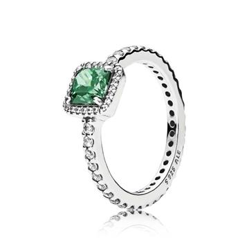 Anillo PANDORA elegancia atemporal verde 190947GCZ