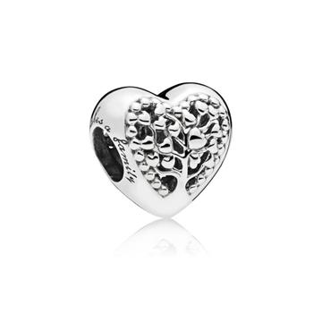 Charm PANDORA 797058 corazones florecientes