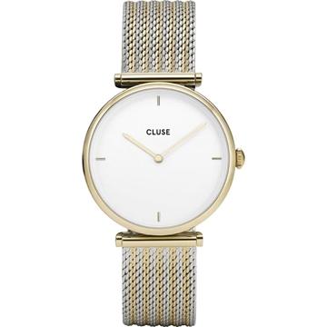 Reloj CLUSE CL61002 triomphe malla plata bicolor