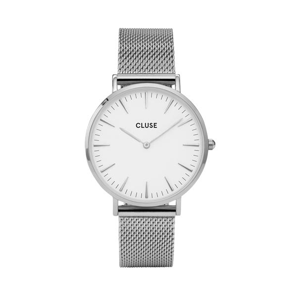 Reloj CLUSE CL18105 La boheme malla plata