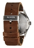 Foto de Reloj NIXON sentry leather black/brown