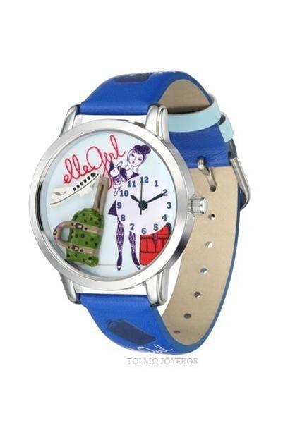 Reloj Elle Girl azul Klein