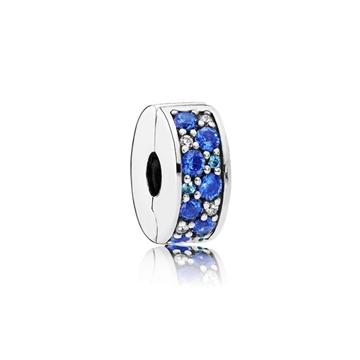 Foto de Clip brillante mosaico azul