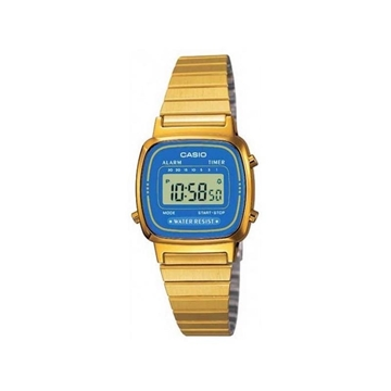 Reloj CASIO dorado digital