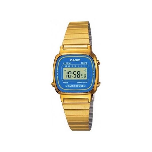 Reloj CASIO dorado digital