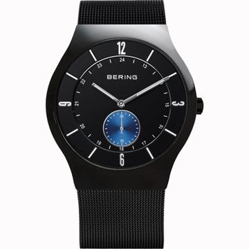 Reloj BERING negro esfera azul 11940-228