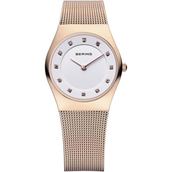 Reloj BERING malla rose Swarovski 11927-366-1