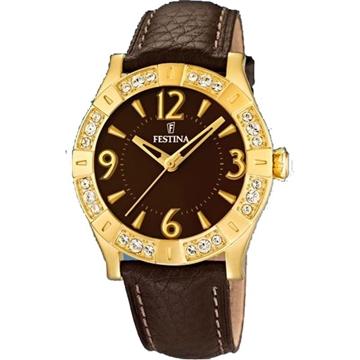 Reloj FESTINA F16580/3 dreamtime marron oro