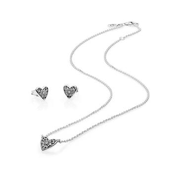 Set de regalo PANDORA corazon de invierno al mejor precio