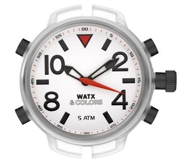 Foto de XXL Reloj WATX analogic mosquito/ white