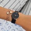 Foto de Reloj CLUSE minuit malla rose/negro