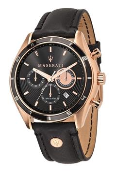 Foto de Reloj MASERATI sorpaso black dial black strap