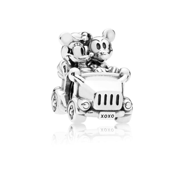 Foto de Charm PANDORA coche vintage Minnie & Mickey