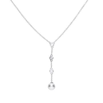 Collar DIAMONFIRE plata corbatero