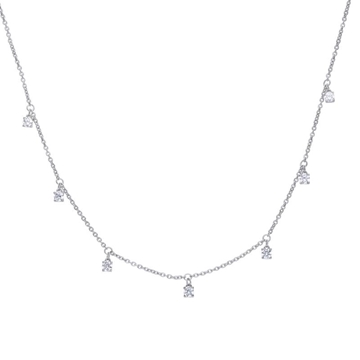 Foto de Collar DIAMONFIRE plata con circonitas