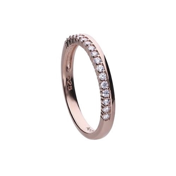 Anillo DIAMONFIRE tipo alianza rose 6121001082165
