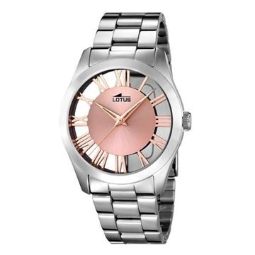 Foto de Reloj LOTUS trendy para mujer esfera rose