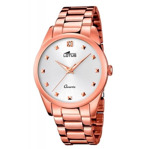 Foto de Reloj LOTUS para mujer trendy con correa rose