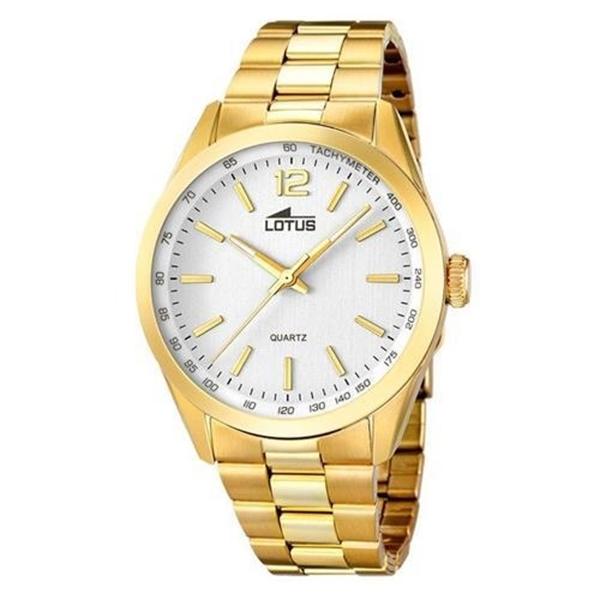 Foto de Reloj LOTUS minimalist gold