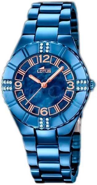 Foto de Reloj LOTUS para mujer trendy azul