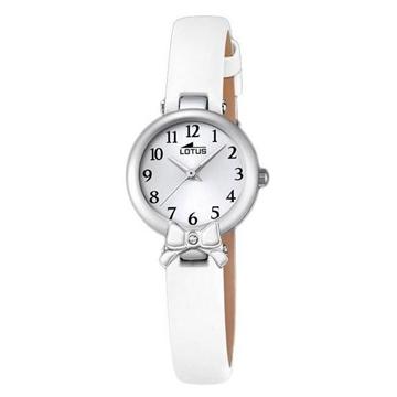 Foto de Reloj LOTUS niña comunion blanco lazo