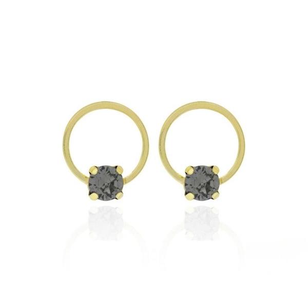 Foto de Pendientes VC celine diamond dorado