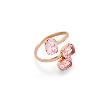 Foto de Anillo VC triple light rosa