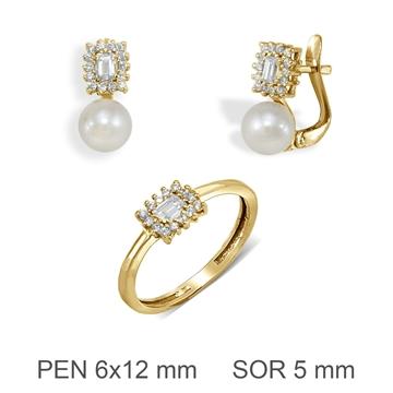 Aderezo de comunion perla