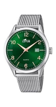 Foto de Reloj LOTUS minimalist verde