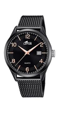 Foto de Reloj LOTUS minimalist black