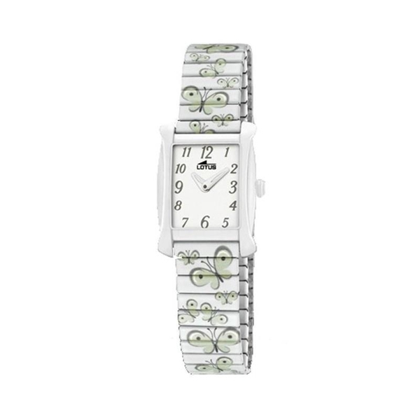 Foto de Reloj LOTUS extensible blanco