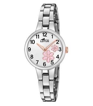 Foto de Reloj LOTUS junior flores