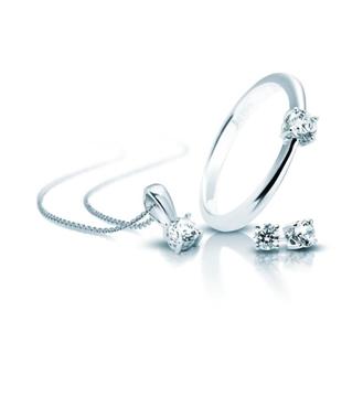 Foto de Set anillo pendientes y collar