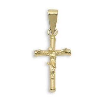 Cruz de oro con cristo para Comunion