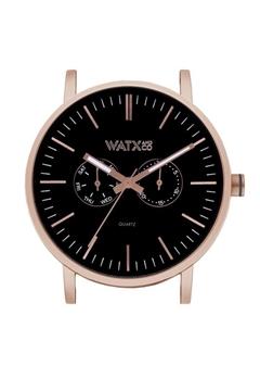 Reloj de color negro personalizable WATX