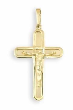 Cruz de oro con Cristo pequeña