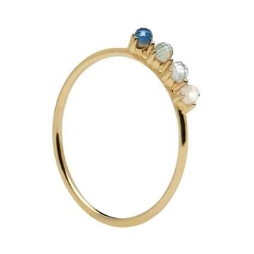 Anillo PDPAOLA cobalt gold AN01-123
