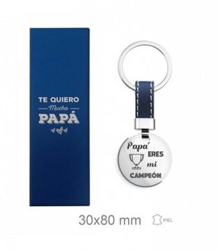 Foto de Llavero de acero -Papá-