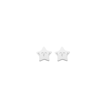 Foto de WONDERFUL SPARKLING/ STUD EARRINGS/ SILVER